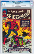 Silver Age (1956-1969):Superhero, The Amazing Spider-Man #40 (Marvel, 1966) CGC NM/MT 9.8 Whitepages....