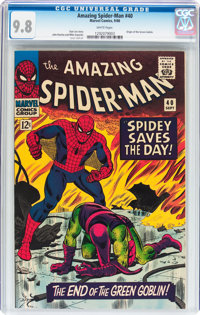 The Amazing Spider-Man #40 (Marvel, 1966) CGC NM/MT 9.8 White pages