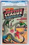 Silver Age (1956-1969):Superhero, The Brave and the Bold #28 Justice League of America (DC, 1960) CGCFN- 5.5 Cream to off-white pages....