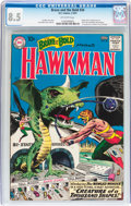 Silver Age (1956-1969):Superhero, The Brave and the Bold #34 Hawkman (DC, 1961) CGC VF+ 8.5 Off-white pages....