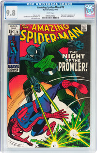The Amazing Spider-Man #78 (Marvel, 1969) CGC NM/MT 9.8 White pages