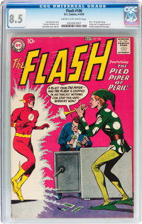 The Flash #106 (DC, 1959) CGC VF+ 8.5 Cream to off-white pages