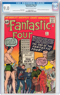 Silver Age (1956-1969):Superhero, Fantastic Four #9 (Marvel, 1962) CGC VF/NM 9.0 Cream to off-white pages....