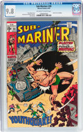 Bronze Age (1970-1979):Superhero, The Sub-Mariner #28 (Marvel, 1970) CGC NM/MT 9.8 Off-white to white pages....