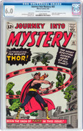 Silver Age (1956-1969):Superhero, Journey Into Mystery #83 (Marvel, 1962) CGC FN 6.0 Cream to off-white pages....