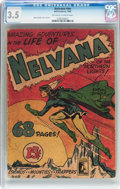 Golden Age (1938-1955):Superhero, Nelvana #nn (Bell Features, 1945) CGC VG- 3.5 Off-white to white pages....