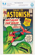 Silver Age (1956-1969):Superhero, Tales to Astonish #44 (Marvel, 1963) CBCS NM 9.4 Off-white to white pages....