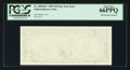 Error Notes:Blank Reverse (<100%), Fr. 2030-B* $10 1993 Federal Reserve Note. PCGS Gem New 66PPQ.. ...