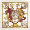 "Luxury Accessories:Accessories, Hermes 90cm ""Napoleon,"" by Philippe Ledoux Silk Scarf. ExcellentCondition. 36"" Width x 36"" Length. ..."