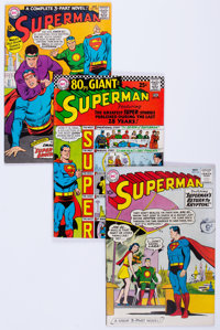 Superman Group of 27 (DC, 1960-77) Condition: Average FN/VF.... (Total: 27 Comic Books)