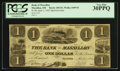 Obsoletes By State:Ohio, Massillon, OH - Bank of Massillon $1 Apr. 1, 1842 Spurious Wolka1609-02. ...