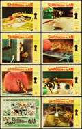 "Movie Posters:Science Fiction, The Incredible Shrinking Man (Universal International, 1957). LobbyCard Set of 8 (11"" X 14"").. ... (Total: 8 Items)"