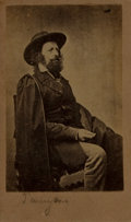 Photography:CDVs, Alfred Lord Tennyson Carte de Visite. New-York: E. & H.T. Anthony, [n.d., circa 1861]....
