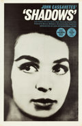 "Movie Posters:Drama, Shadows (Lion International, 1959). One Sheet (27"" X 41"").. ..."