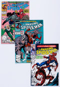 Modern Age (1980-Present):Superhero, The Amazing Spider-Man Group of 48 (Marvel, 1990-96) Condition:Average VF.... (Total: 48 Comic Books)