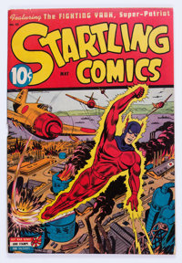 Startling Comics #33 (Better Publications, 1945) Condition: VG/FN