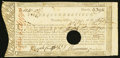 Colonial Notes:Connecticut, Connecticut Treasury Certificate £11 10s 3/4d June 1, 1780 AndersonCT-18 Very Fine, HOC. ...