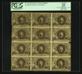 Fractional Currency:Second Issue, Block of Twelve Fr. 1232 5¢ Second Issue PCGS Apparent Very Fine 25.. ... (Total: 12 notes)
