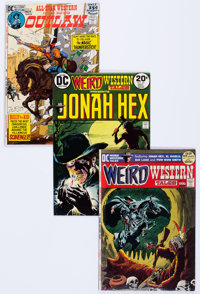 All-Star Western/Weird Western Tales Group of 37 (DC, 1970-77) Condition: Average FN.... (Total: 37 Comic Books)