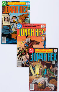 Jonah Hex #1-29 Group (DC, 1977-79) Condition: Average VF.... (Total: 29 Comic Books)