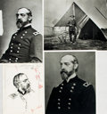 Books:Periodicals, [George Meade]. Collection of Four Photographs and Images Relatedto George Meade. ...