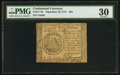 Colonial Notes:Continental Congress Issues, Continental Currency September 26, 1778 $50 PMG Very Fine 30.. ...