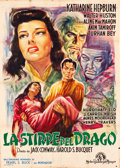 "Movie Posters:War, Dragon Seed (MGM, Late 1940s). First Post-War Release Italian 4 -Foglio (55"" X 78"").. ..."