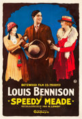 "Movie Posters:Western, Speedy Meade (Goldwyn, 1919). One Sheet (28"" X 41.25"").. ..."