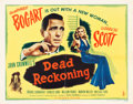 "Movie Posters:Film Noir, Dead Reckoning (Columbia, 1947). Half Sheet (22"" X 28"") Style A....."