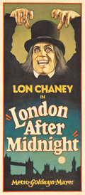 "Movie Posters:Horror, London After Midnight by Arthur K. Miller (2015). Original ArtworkCloth Banner (25.75"" X 57.5"").. ..."