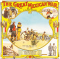 "Movie Posters:Documentary, The Great Mexican War (El Paso Film Company, 1914). Six Sheet (81""X 83"") & Broadside (21"" X 28"").. ... (Total: 2 Items)"