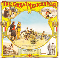 "The Great Mexican War (El Paso Film Company, 1914). Six Sheet (81"" X 83"") & Broadside (21"" X 28&q..."