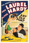 "Movie Posters:Comedy, Any Old Port (MGM, 1932). One Sheet (27"" X 41"").. ..."