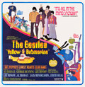 "Movie Posters:Animation, Yellow Submarine (United Artists, 1968). Six Sheet (78.5"" X 80"")....."