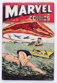 Marvel Mystery Comics #77 (Timely, 1946) Condition: VG