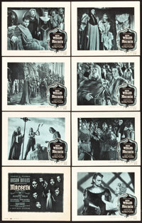 "Macbeth (Republic, 1948). Lobby Card Set of 8 (11"" X 14""). ... (Total: 8 Items)"