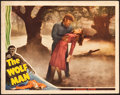 "Movie Posters:Horror, The Wolf Man (Universal, 1941). Lobby Card (11"" X 14"").. ..."