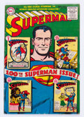 Golden Age (1938-1955):Superhero, Superman #100 (DC, 1955) Condition: VG+....
