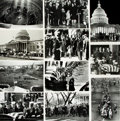 Books:Prints & Leaves, [John F. Kennedy Funeral]. Collection of Approximately Fifty-TwoPhotographs Depicting the Funeral of John F. Kennedy. ...