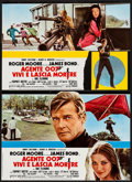 "Movie Posters:James Bond, Live and Let Die (United Artists, 1973). Italian Photobusta Set of 10 (18"" X 26""). James Bond.. ... (Total: 10 Items)"