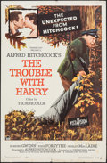 """Movie Posters:Hitchcock, The Trouble with Harry (Paramount, 1955). One Sheet (27"""" X 41"""").Hitchcock.. ..."""