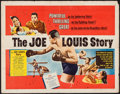 "Movie Posters:Sports, The Joe Louis Story (United Artists, 1953). Half Sheet (22"" X 28"") Style A. Sports.. ..."