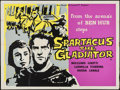 """Movie Posters:Adventure, Sins of Rome & Other Lot (New Realm Pictures, R-1960s). BritishQuads (2) (30"""" X 40""""). Adventure. Alternate Title: Spartac...(Total: 2 Items)"""