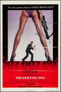 """Movie Posters:James Bond, For Your Eyes Only (United Artists, 1981). One Sheet (27"""" X 41"""")Advance. James Bond.. ..."""