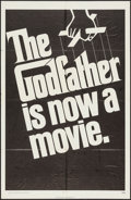 "Movie Posters:Crime, The Godfather (Paramount, 1972). One Sheet (27"" X 41"") Advance.Crime.. ..."