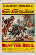 "Movie Posters:Adventure, Beat the Devil (United Artists, 1953). One Sheet (27"" X 41""). Adventure.. ..."