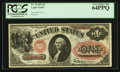 Large Size:Legal Tender Notes, Fr. 19 $1 1874 Legal Tender PCGS Very Choice New 64PPQ.. ...