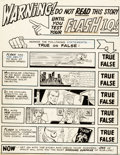Original Comic Art:Panel Pages, Ross Andru and Mike Esposito Flash #179 Title Page 1Original Art (DC, 1968)....