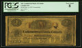 Canadian Currency: , London, ON- Commercial Bank of Canada $2 Ch. # 155-10-12-04Counterfeit. ...