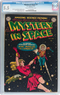 Golden Age (1938-1955):Science Fiction, Mystery in Space #1 (DC, 1951) CGC FN- 5.5 Cream to off-whitepages....